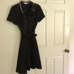 Calvin Klein shirtwaist classic dress